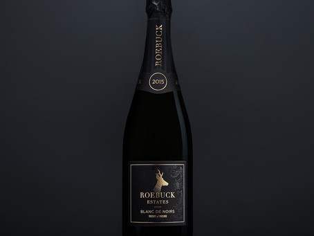Roebuck Estates Blanc De Noirs label illustration