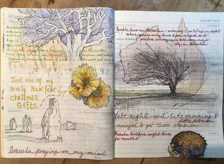 New Year – New Drawing Diary!