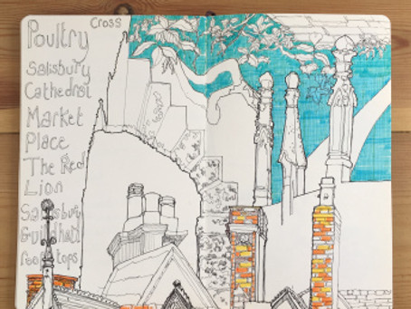Adventures in Art Journaling in Salisbury