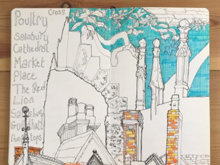 Adventures in Art Journaling in Salisbury