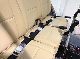 custom interior, helicopter seats,