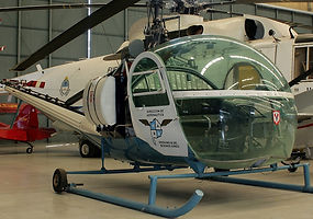 custom build and paint, two tone helicopter