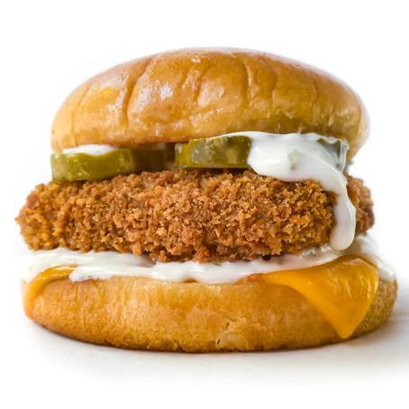 Vegan Filet-O-Fish Sandwich