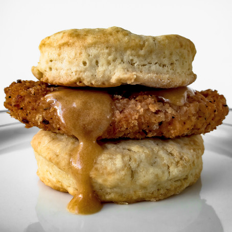 Vegan Honey Butter Chick'n Biscuit