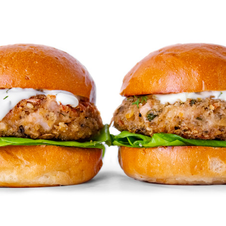 Vegan Crab Cake Sliders