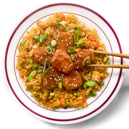 Spicy Sweet & Sour Fried Rice