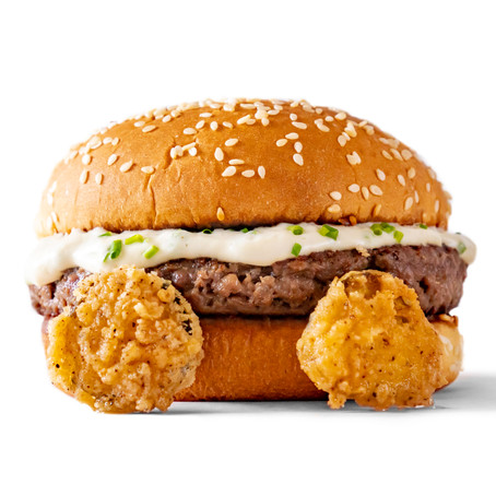 Vegan Baby You Can Chive My Car Burger