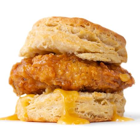 Vegan Honey Butter Chick'n Biscuit
