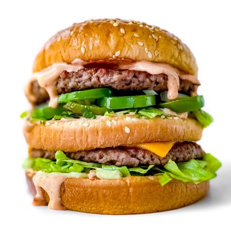 Vegan Spicy Big Mac