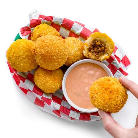 Vegan Burger Balls