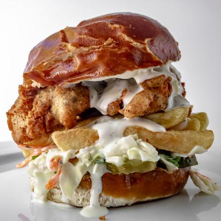 Vegan Fish n' Chips Sandwich