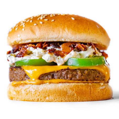 Vegan Jalapeno Popper Burger