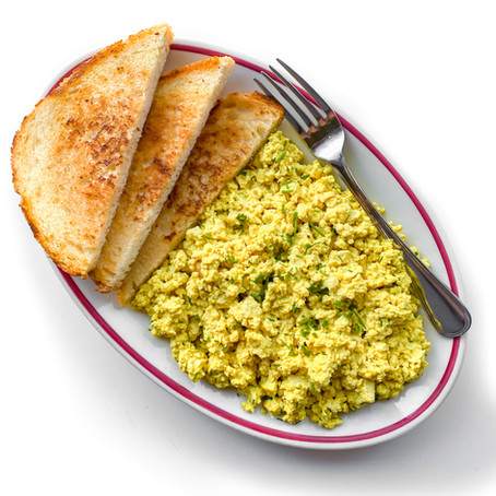 Easy Cheesy Tofu Scramble