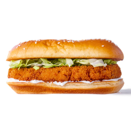 Vegan Burger King Chick'n Sandwich