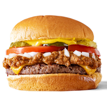 Vegan Tommy's Chili Burger