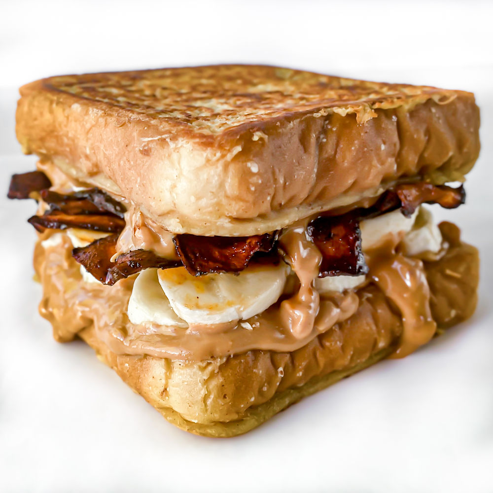Vegan Elvis Sandwich
