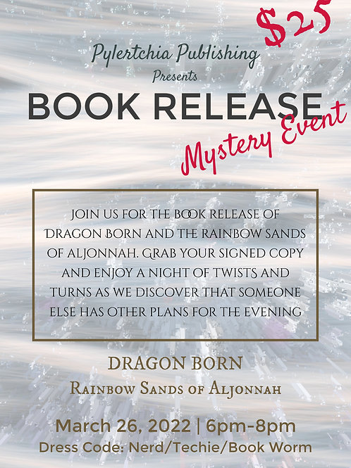 Book Release Mystery Event