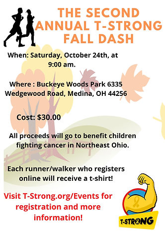 2nd Annual T-Strong Fall Dash Flier -.jp