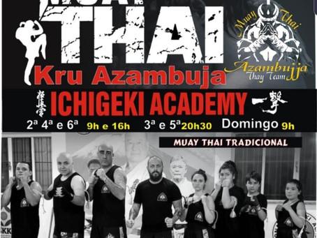 Novos horários Muay Thai