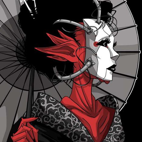 Space Geisha
