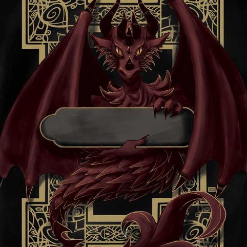 The Dragon Card Back