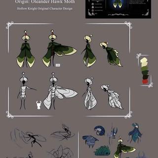 Sultan Hawk Moth