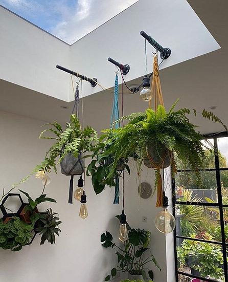 Charcoal Plant Hanger