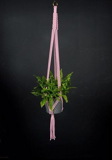 Dusty Pink Plant Hanger