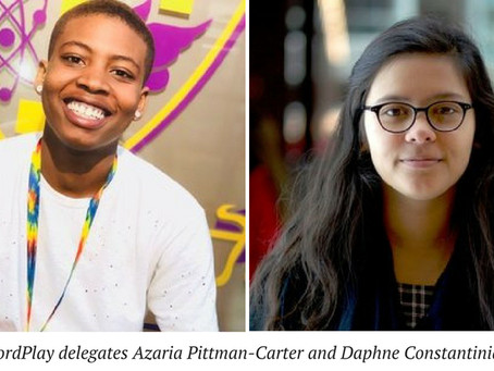 WordPlay students to serve as delegates for International Congress of Youth Voices