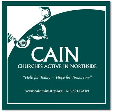 CAIN logo.