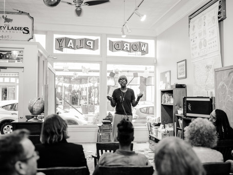 Teen Poets Give Powerful Performances at the WordPlay Open House