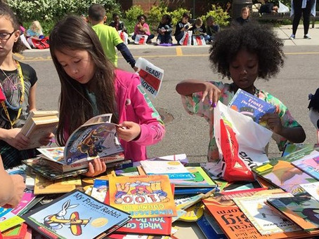 Ride for Reading to deliver thousands of books to local school