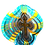 Thumbnail: Cross - Stained Glass