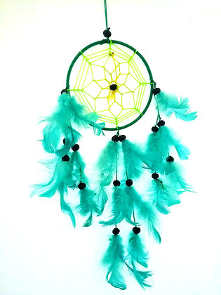 Small Green Dream Catcher