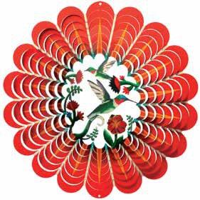 Hummingbird - Red