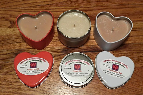 Fall Seasonal Candles (6-oz tins)