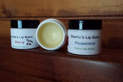 Lip Balm (screw-top jar) ($5.00 to $7.00 by size)