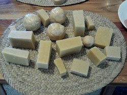 Hand-made Soaps.