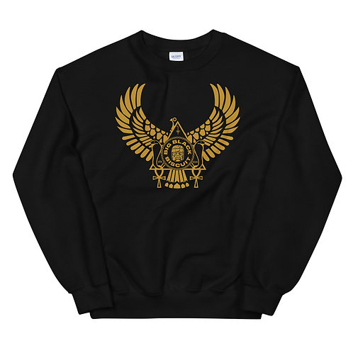 Gold Bird BLK Crewneck