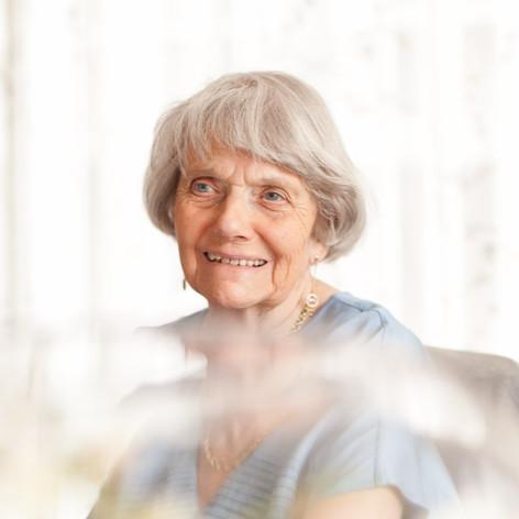 Rhoda at 90