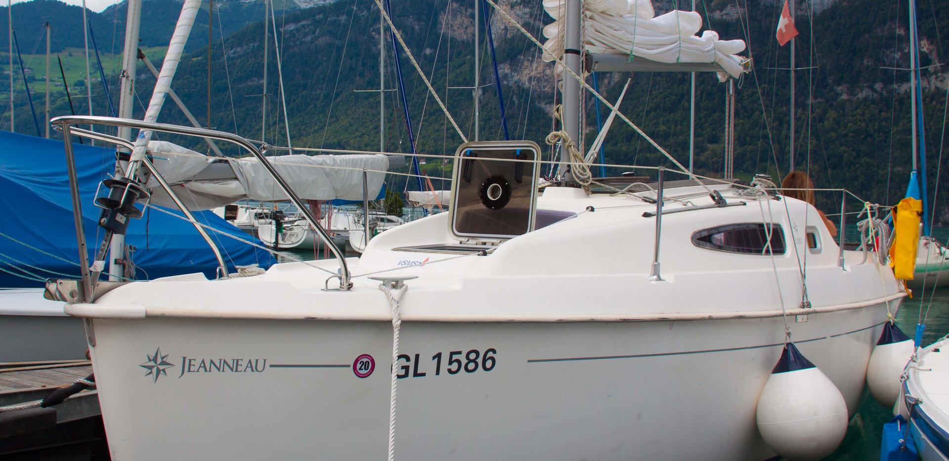 Segelyacht mieten am Walensee
