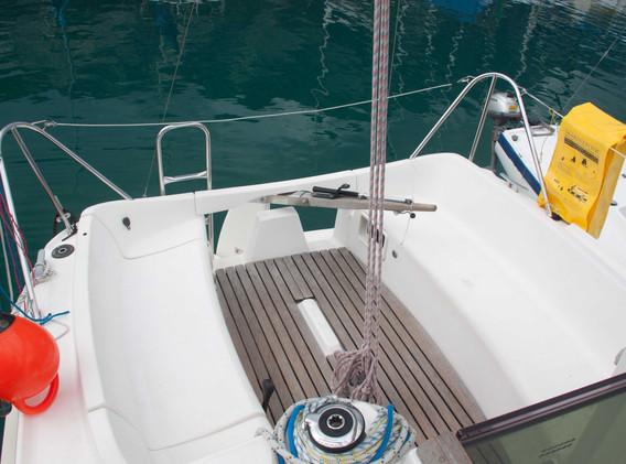 Cockpit Charterschiff