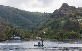 Die Fischer in Wallilabou