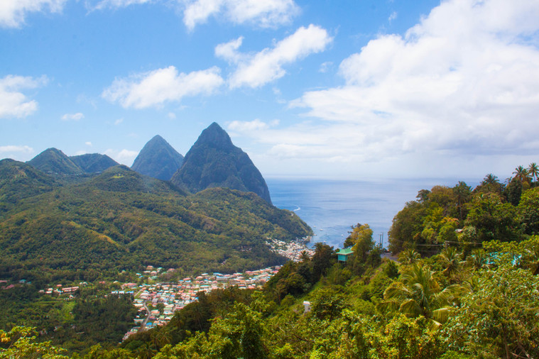 Pitons von St.Lucia