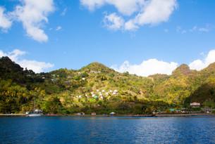 Die Küste von St. Vincent
