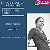 SAFE® FLOOR au Studio Harmonic