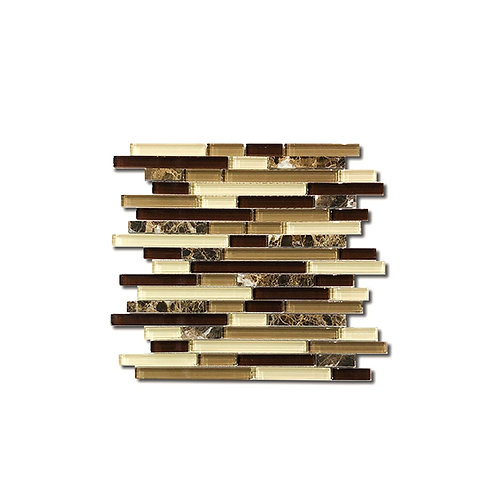 Chocolate Strips Mosaic