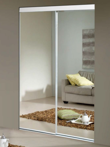 "60""x80-1/2""Sliding Mirror Door"