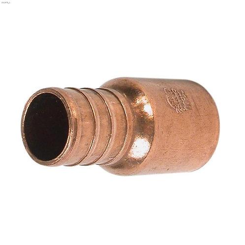 "PACK (25) 3/4"" Barb x Male Sweat Brass PEX Adapter"