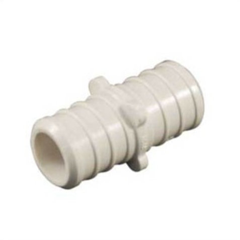 "PEX FITTING PLASTIC COUPLING 3/4"" UPC"